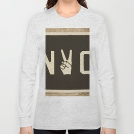 NYC Peace Sign (Color) Long Sleeve T-shirt