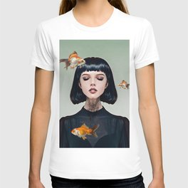 Goldfish Dreaming T-shirt
