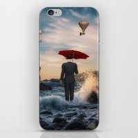 magritte iPhone & iPod Skins featuring A la Magritte by Susann Mielke