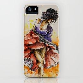 Salsa dancer iPhone Case