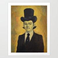 Oilman Painting : Johnny  Art Print