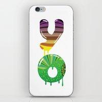 cartoon iPhone & iPod Skins featuring cartoon by Cheese Alien