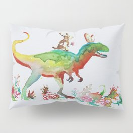 Dino Love Pillow Sham