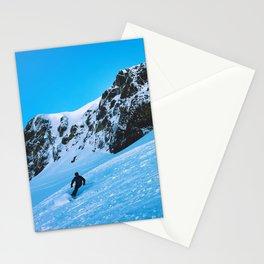 Skier  Stationery Cards