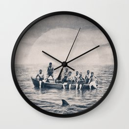 We are brave Wall Clock