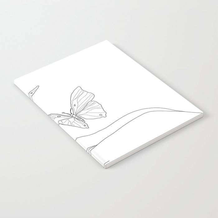 Butterflies on the Palm of the Hand Notebook
