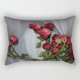 Trash Can Bouquet Rectangular Pillow