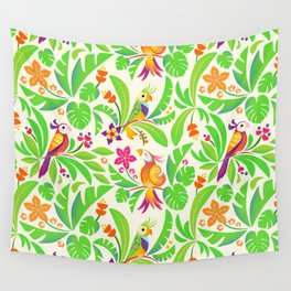 LE PERROQUET Wall Tapestry