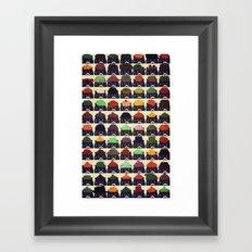 cats-384 Framed Art Print