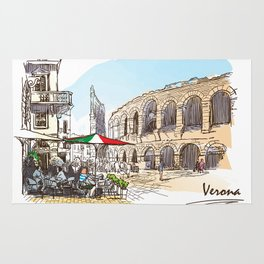 Sketches from Italy - Verona Rug