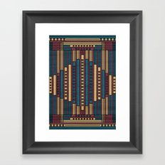 GeoAbstract Framed Art Print