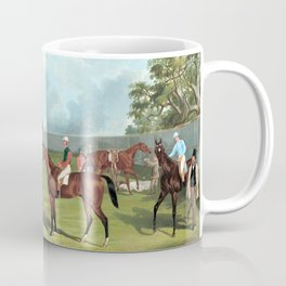 Frederick Woodhouse Group in the Dowling Forest Racecourse Enclosure, Ballarat, 1863 Coffee Mug