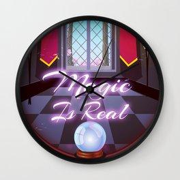 Magic Is Real Wall Clock