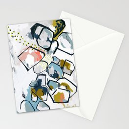 Ava Abstract Print Stationery Cards