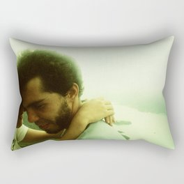Embrace with a View Rectangular Pillow