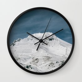 Mount Hood XIII Wall Clock