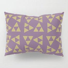 Print 132 - The Legend Of Zelda Triforce - Purple Pillow Sham