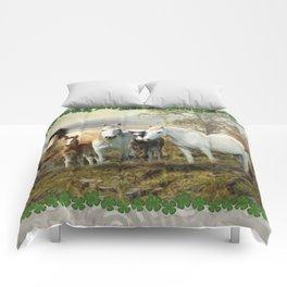Connemara Ponies Comforters