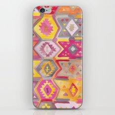 Kilim Me Softly in Pink iPhone & iPod Skin