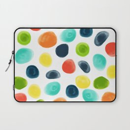 Cobblestone Watercolor Abstract Laptop Sleeve