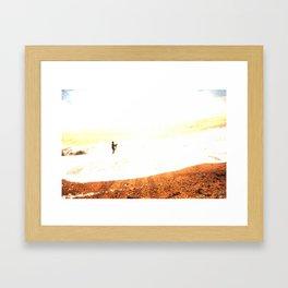 14/ Silver Surfer by Jack Shoobridge Framed Art Print