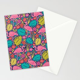 Tropical Flamingo Stationery Cards