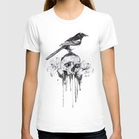 pie T-shirts featuring Pie by Mortimer Sparrow