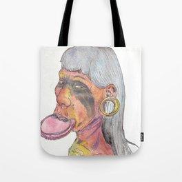 Kayapo Man Tote Bag