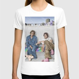 John and Paul get away from it all T-shirt