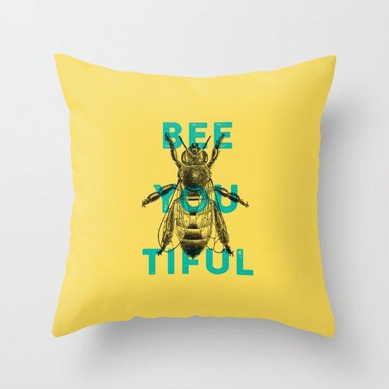 Bee-you-tiful Throw Pillow