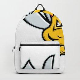 Mosquito Baseball Mascot Backpack