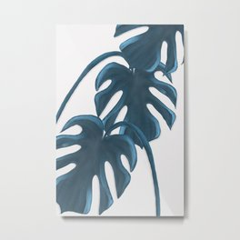 Moderna Monstera V.4 Metal Print