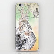 Green Bough, Singing Bird iPhone & iPod Skin