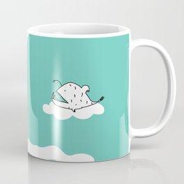 Flying Angler Fish by Amanda Jones Coffee Mug