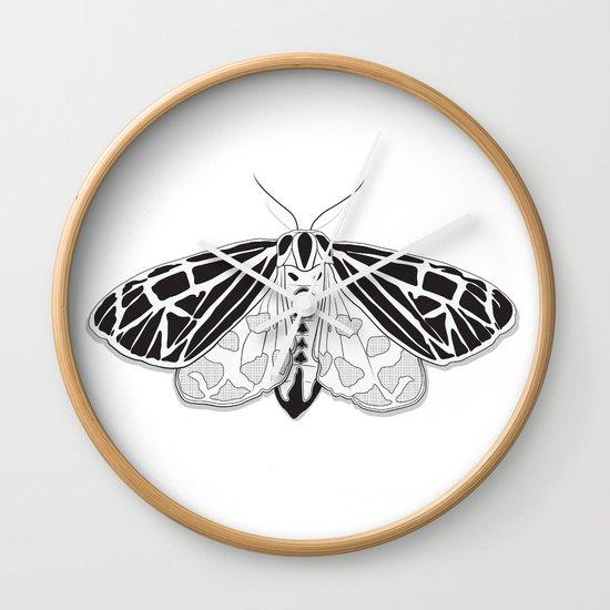 Virgin Tiger Moth Wall Clock