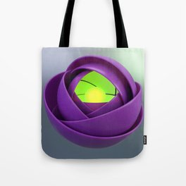 Lemurian rose Tote Bag