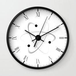 Atomic Mass Structure Wall Clock