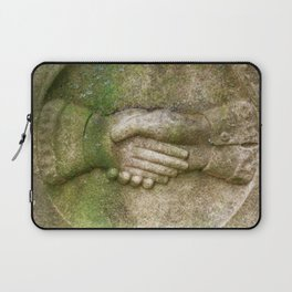 Tombstone Handshake Laptop Sleeve