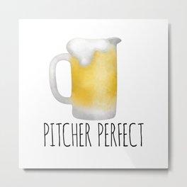 Pitcher Perfect Metal Print