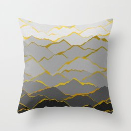 Kintsugi Throw Pillow