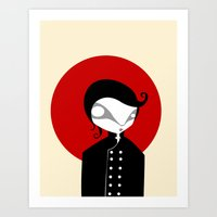 alone Art Prints featuring Alone by Volkan Dalyan
