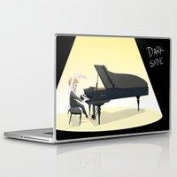 tim shumate Laptop & iPad Skins featuring Tim Minchin by Lesley Vamos