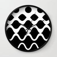 Light Waves Wall Clock