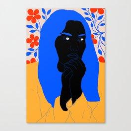 unhappy Canvas Print