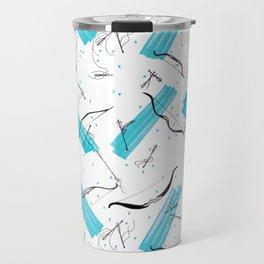 Little Pattern of Bow & Arrow Travel Mug