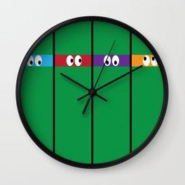 Teenage Mutant Ninja Turtles Wall Clock