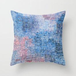 Spacetime Ripples Throw Pillow