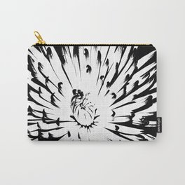 Large Chrysanthemum - BWScale Carry-All Pouch