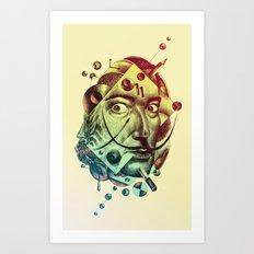 The Look Art Print