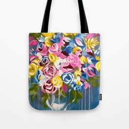Bright Flowers Tote Bag